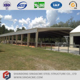 Полуфабрикат структурно сарай стальной рамки