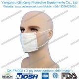 Mascarilla activa no tejida disponible del respirador del carbón del Ce Qk-FM005