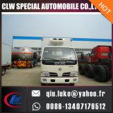 2016 laatst de Euro 3/4 Vrachtwagen van de Ijskast van de Vrachtwagen 4X2 Forland/Dongfeng van de Ijskast van de Emissie Standaard met HandTransmissie voor Verkoop