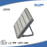 Lâmpada ao ar livre 150W 200W da luz de inundação do poder superior do diodo emissor de luz