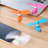 Ventilador portátil do USB do presente superior mini para o iPhone e o Android