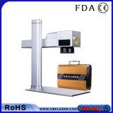 máquina do marcador do laser da fibra 20With30With50W para o gravador do logotipo dos produtos