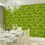 Papel pintado casero interior de la decoración 3D de las opiniónes del diseño natural hermoso del papel de empapelar