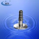 Ajustage de précision de picot de boyau de Triclamp d'acier inoxydable