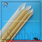 Poliuretano e acrílico revestidos Sleeving de Wiith da fibra de vidro da resistência térmica