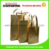 رقّق نوع ذهب متحمّل يطبع غير يحاك تسوق يطوي حقيبة يد لأنّ تعليب أحذية
