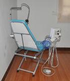 Présidence dentaire pliable portative de couleur bleue de la Chine