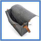 Modificado para requisitos particulares hacer el bolso ocasional sentido las lanas respetuosas del medio ambiente del mensajero del totalizador, bolso de hombro caliente de las compras del regalo de la promoción