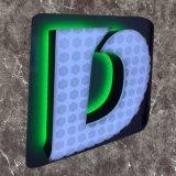 LED 정면에 의하여 분명히되는 날조된 아크릴 채널 편지