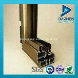 6063 aleación de aluminio personalizada perfil de la ventana deslizante con diferentes colores