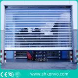 Industrielles Lager-Aluminiumlegierung-Metallobenliegende schnelle Vorgangs-Walzen-Türen