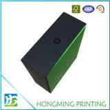 Оптовые роскошные черные и зеленые коробки подарка
