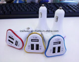 New Hot QC 2,0 3 USB Car Charger for Samsung for iPhone