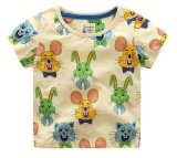 نمط مزح أطفال [هومور] مستديرة عنق [ت] قميص 100% قطن