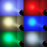 54PCS Licht van de Disco van het LEIDENE Lichte 3W LEIDENE RGBW van het PARI PARI van het Stadium het Lichte