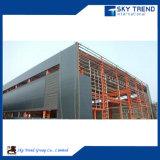 Entrepôt en acier préfabriqué de installation rapide de prix bas de poids léger de bonne qualité