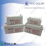 Bateria de ácido de chumbo recarregada recarregável 65ah para sistema solar
