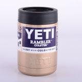 Nam de Gouden Mok van de Koffie van het Roestvrij staal van de Tuimelschakelaar van de Wandelaar van de Yeti Koelere toe