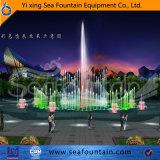 Fontaine de musique de forme de l'eau de Poolcombation de l'eau de forme de fleur