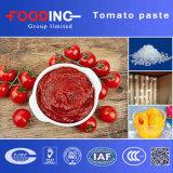 중국에서 통조림으로 만들어지는 저가 토마토 페이스트
