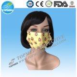 Máscara protetora não tecida descartável de 2ply 3ply para o hospital, médica
