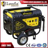 6.5kVA type silencieux portatif générateur d'essence avec Soncap