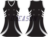Hot Sale Cusotm Made 100% Polyester Women's Netball Dresses (N006)
