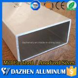 Het populaire Aangepaste Rechthoekige Profiel van de Legering van het Aluminium van de Buis van het Aluminium met het Anodiseren
