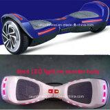 """""""trotinette"""" elétrico da roda da polegada dois com Bluetooth & luzes do diodo emissor de luz"""