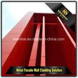 Panneaux décoratifs en aluminium de coupure de laser pour le revêtement de mur