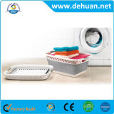 Tamanho Foldable 62*44.5*26.2cm da cesta da lavanderia plástica feita sob encomenda