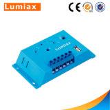 Controlemechanisme van de Last van Ce 12V 5A van Lumiax 10A het Zonne met de Haven van 2 PCs USB