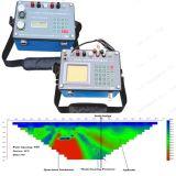 Het geologische Instrument van het Onderzoek voor de Ondergrondse Exploratie van het Water met de Software van de Weergave van het Profiel