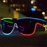 Mehrfachverbindungsstelle färbt EL-Draht-Sonnenbrillen