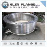 Beleg auf legierter Stahl-Flansch