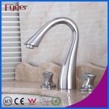 Fyeer Deck Mounted Solid Brass 8 Inch Widespread Bathroom Faucet