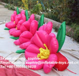 Personalizar Inflatable Pink Flower Chain para Sale
