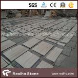 壁および床のための中国の木の白い大理石のタイル