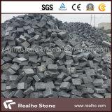 G654 어두운 회색 화강암 자갈 돌 또는 입방체 돌 또는 포석