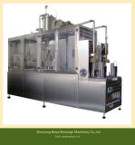 Máquina Semi automática de Tyep do enchimento da caixa da parte superior do frontão de sal