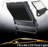 옥외 IP65 매우 얇은 호리호리한 편평한 LED 플러드 빛 200W