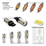 LensのT10 Ba9s 6*5730SMD Canbus LED Car Light Bulb