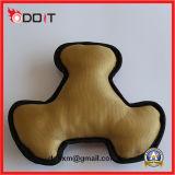 2 camadas de brinquedo resistente do cão de brinquedo do animal de estimação da tela