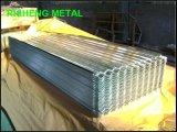 공장 Suppling 고품질 건축재료 PPGI PPGL 강철 플레이트는/루핑 장을 주름을 잡았다