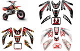 Sticker en vinyle, Dirt Bike Decal (HX-DD-02)