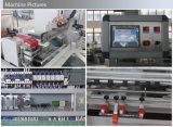 Máquina automática para el retractilado de tablas de entarimado