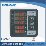 Multi-Functional Digital Panel Frequency Meter GV57 para Genset