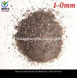 Grano del corindone del Brown per le materie prime a prova di fuoco