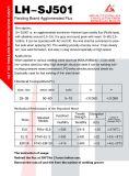 Actief LUF Sj501 met de Toegepaste Eigenschappen van het Lassen Goog/de Gemakkelijke Verwijdering van Slakken