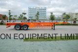 40feet 2 Semi de Container van het Skelet van Assen - Aanhangwagen